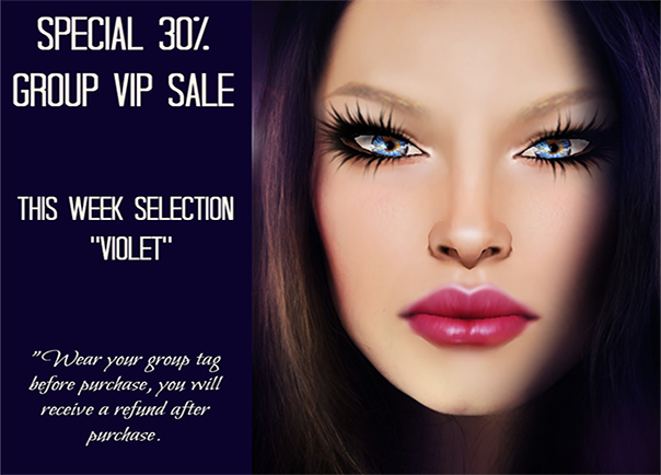 VIP Group Discount - Violet