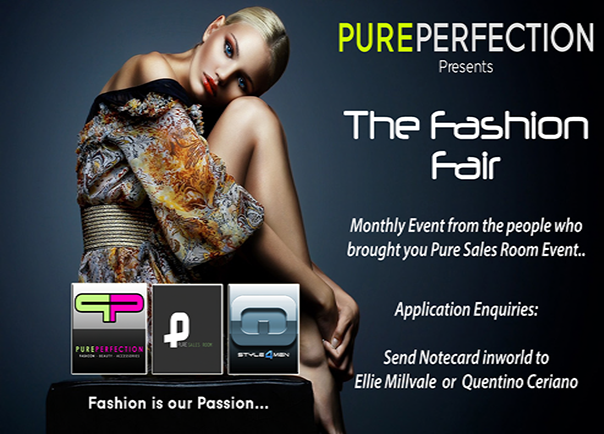The Fashion Fair Ad