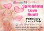 LOVEME SKINS SPREADING LOVE HUNT!