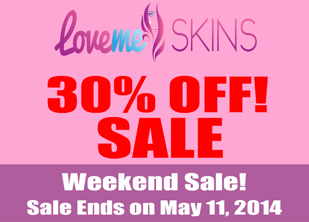 Weekend Storewide 30% Sale!