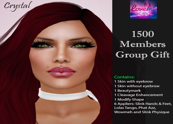 LoveMe Skins Group Gift - Crystal