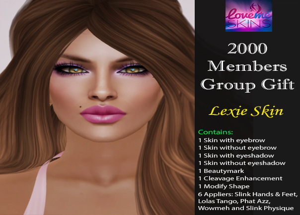 LoveMe Skins Special 2000 Members Group Gift - Lexie