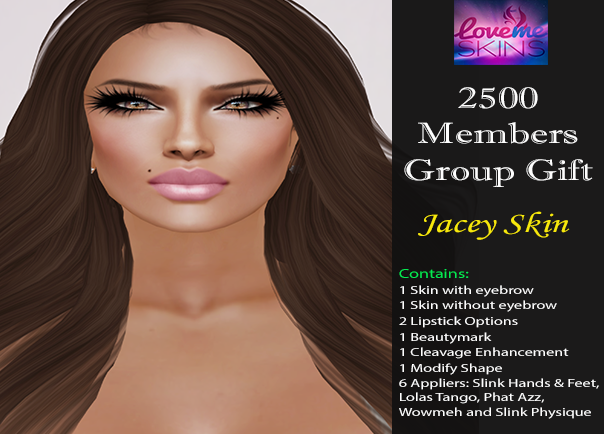 LoveMe Skins Group Gift Jacey
