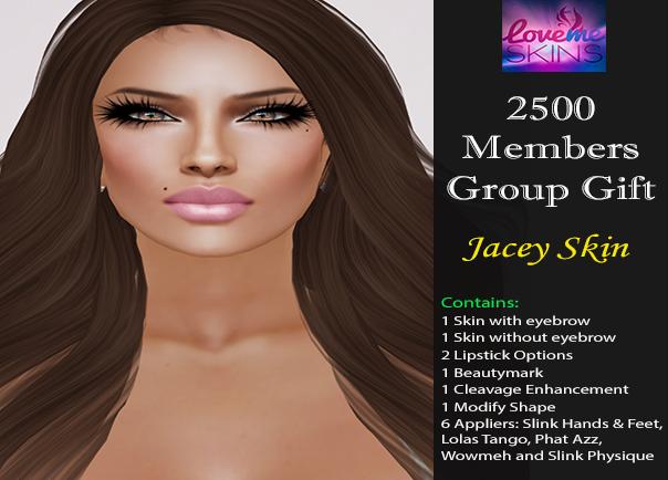 LoveMe Skins Group Gift Jacey