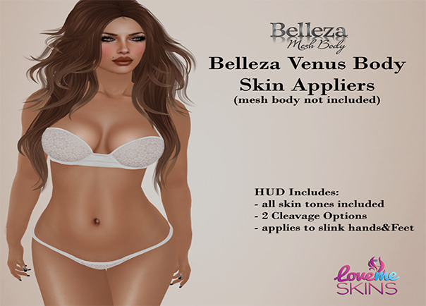 Belleza Venus Body Appliers