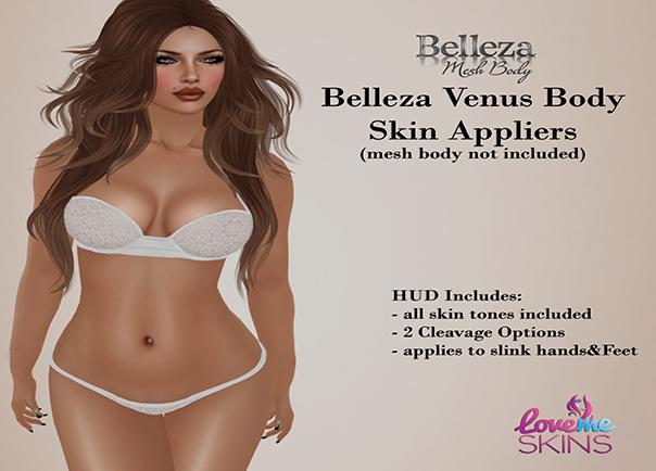 Belleza Venus Body Appliers