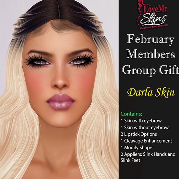 LoveMe Skins - Group Gift Darla