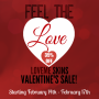 Valentine's Day Sale!@LoveMe Skins