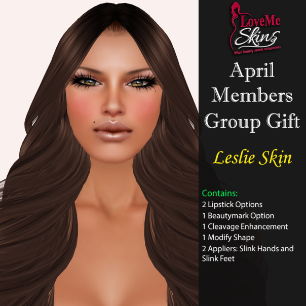 LoveMe Skins - Group Gift Leslie