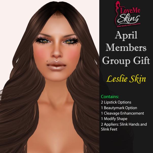 LoveMe Skins - Group Gift Leslie