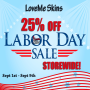 25% Off Sale!@LoveMe Skins