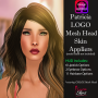 LoveMe Skins Omega Mesh Head Skin Appliers@The Makeover Room